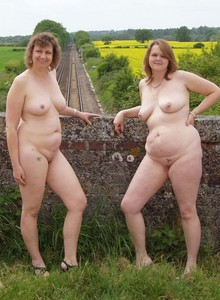 Mature naturists photo