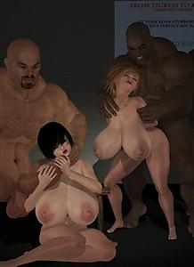 3d group sex pleasures